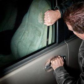 باز کردن درب خودرو