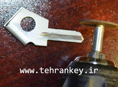 برش شیار اصلی رو کلید
