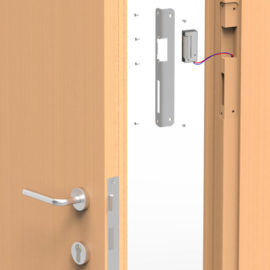 قفل برقی ریموت دار اتاق مدیر و منشی