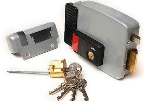 قفل حیاطی برقی سیزا ایتالیا