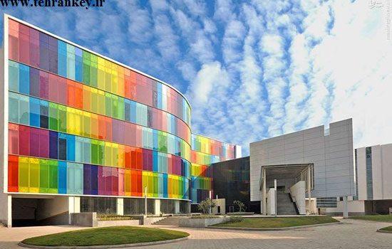 کاربرد شیشه های رنگی