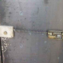 تبدیل قفل معمولی به قفل برقی زنجیری