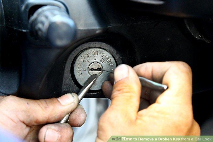 در آوردن کلید شکسته داخل قفل خودرو