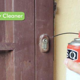 روغن کاری قفل درب ضد سرقت و درب حیاط