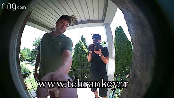 زنگ درب مجهز به دوربین