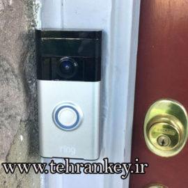 نحوه نصب زنگ درب مجهز به دوربین