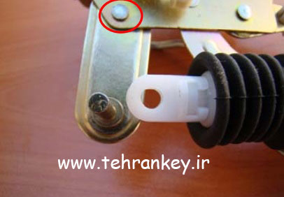 پرچ کاری نامناسب قفل مکانیکی