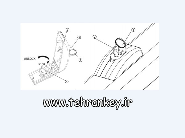 نحوه خلاص کردن درب برقی هیدرولیک فک (FAAC  ) مدل ۴۰۰